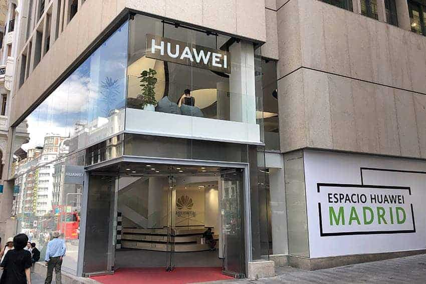 CVO Group - Huawei's Flagship Store Madrid